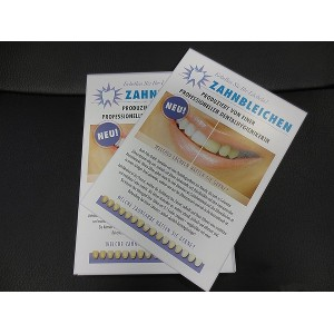 Leaflets - LED-Tooth Whitening (50)